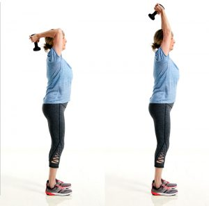 SilverSneakers Triceps Extension