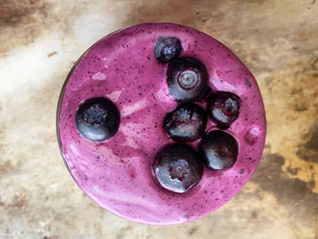 Blueberries and Cream Smoothie